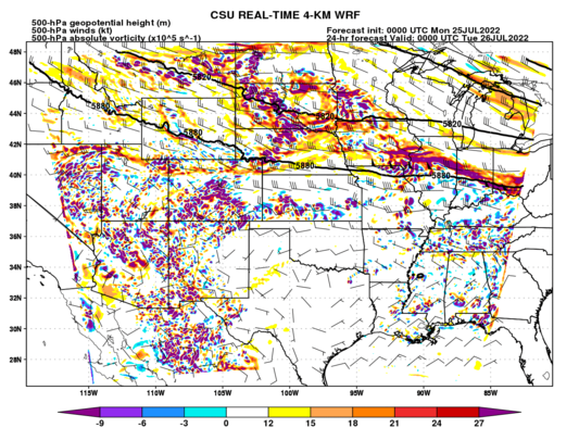 500-hPa absolute vorticity, heights, and winds (full domain) (click image for animation)